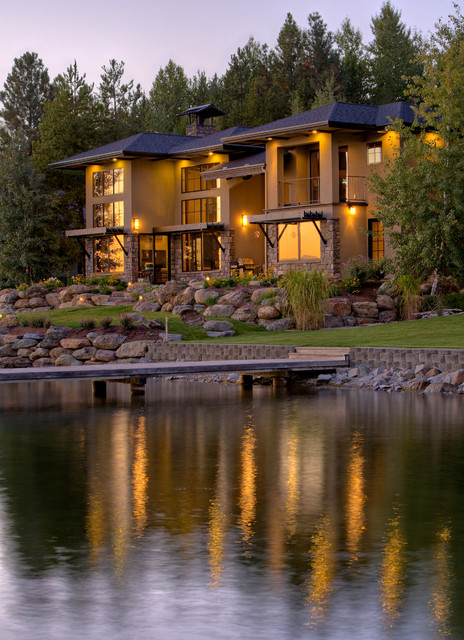 Whiskey Jack Residence eclectic-exterior
