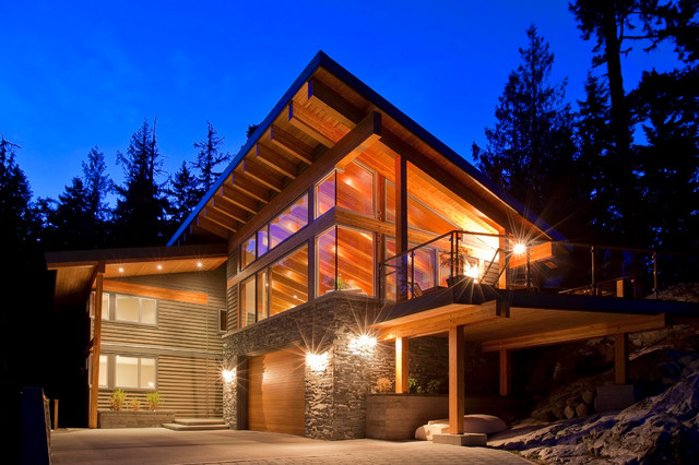 Whistler Chalet Emerald Modern Exterior Vancouver