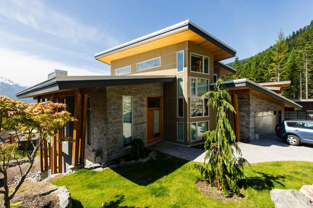 Whistler contemporary-exterior