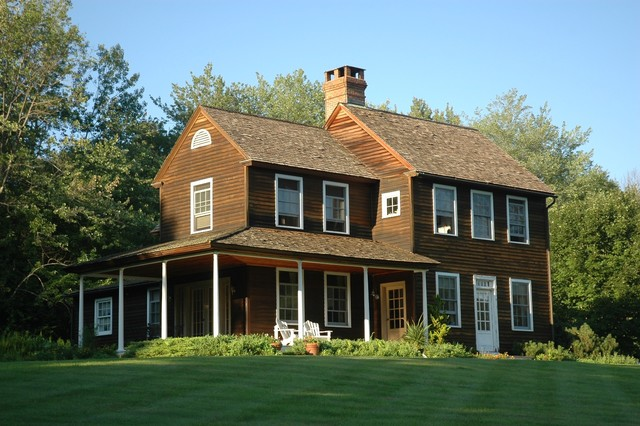 Whitcomb Hill Farmhouse traditional exterior