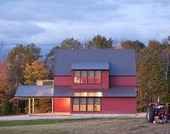 White Mountain View farmhouse-exterior