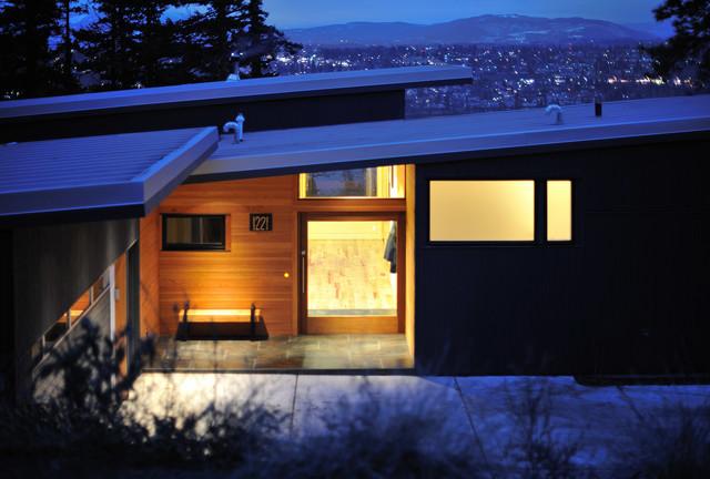 White Salmon House contemporary-exterior