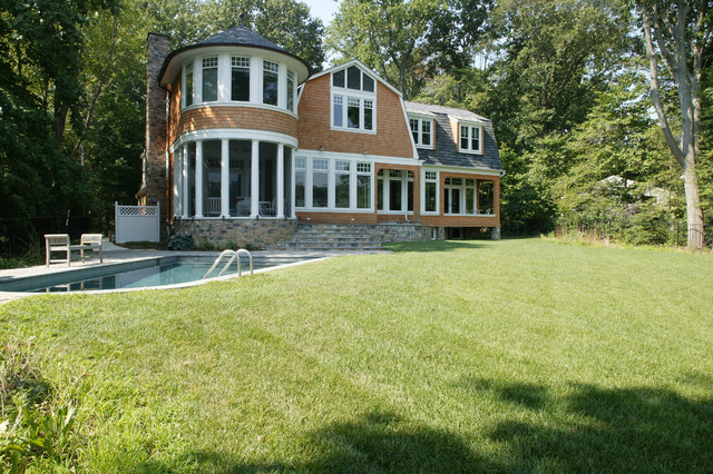 Whitehall Creek Home traditional-exterior