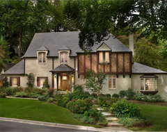Whole-house remodel: Magical Transformation rustic-exterior