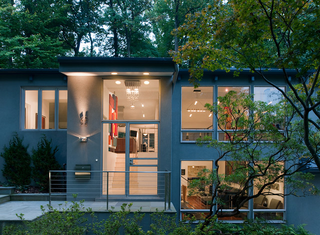Whole House Remodel Washington Dc Midcentury Exterior