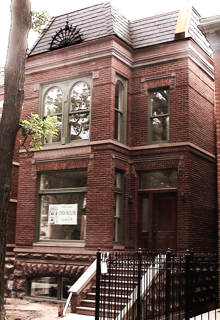 Wicker Park Townhomes traditional-exterior