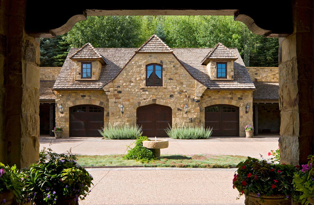 Wildcat Ranch Residence traditional-exterior
