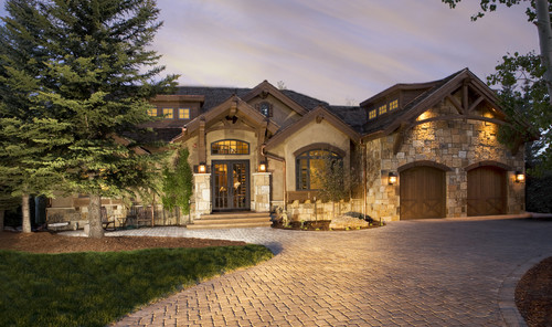 stucco type and stone type color
