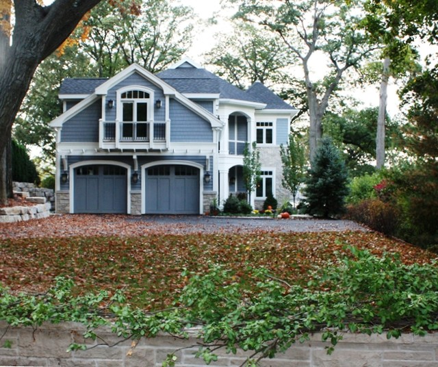 Williams Bay Lake Home - Traditional - Exterior - milwaukee - by MCCORMACK & ETTEN ARCHITECTS LLP