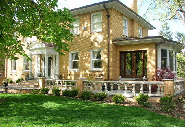 Wilmette Addition I traditional-exterior