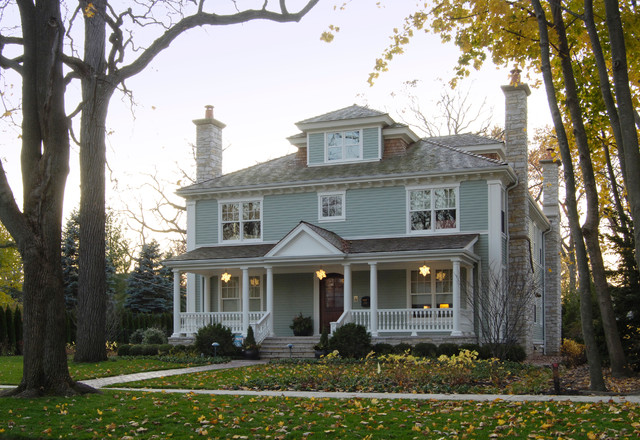 Wilmette Residence traditional-exterior