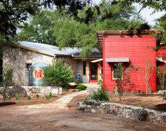 Wimberley Modern Farmhouse eclectic-exterior