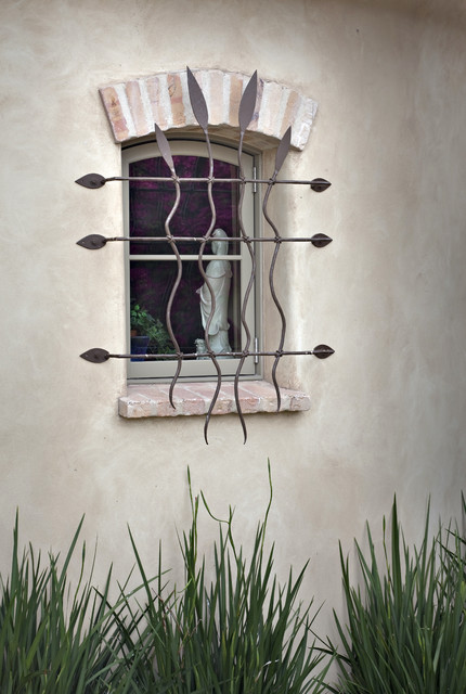 Window Detail - Mediterranean - Exterior - Santa Barbara - by Tom Meaney Architect, AIA