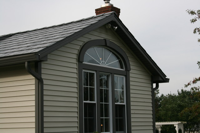 Window Trim Detail Traditional Exterior Cleveland By Miller Custom Exteriors
