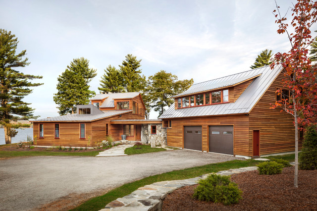 Windows and Doors rustic-exterior & Windows and Doors - Rustic - Exterior - Portland Maine - by Home ...