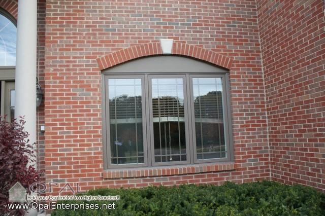 Windows White Inside Brown Outside Andersen 100 Series