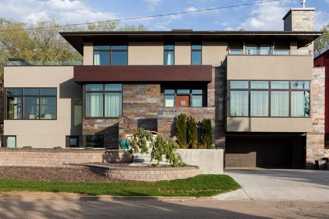 Windsor Park Bauhaus Contemporary Exterior Edmonton By Habitat Studio