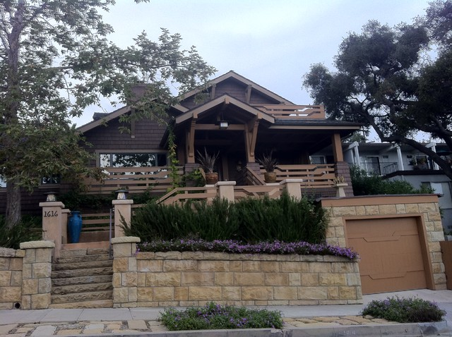 Winfred Residence traditional-exterior