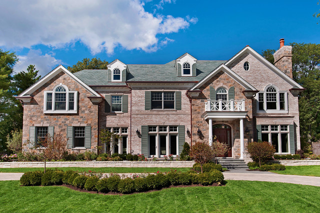 Winnetka New Construction traditional-exterior