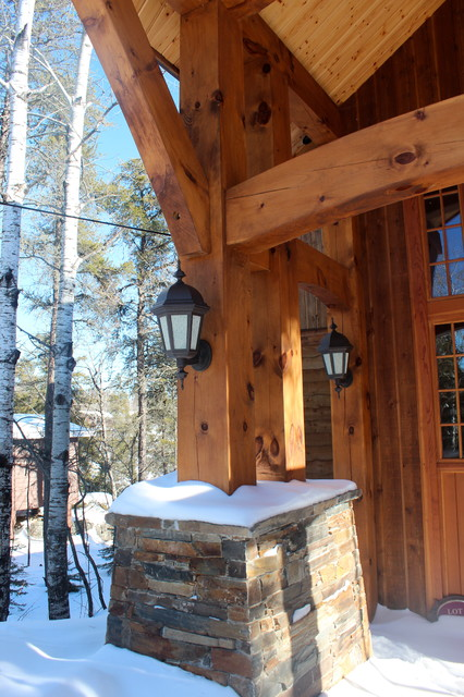 Winter exterior photos traditional exterior other for Winter design group