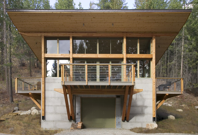 Wintergreen modern-exterior