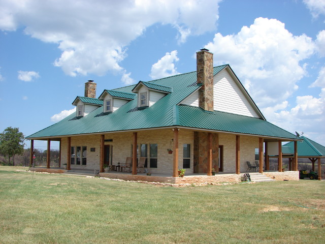 Wirstrom 39 s valhalla ranch home traditional exterior for Traditional ranch homes