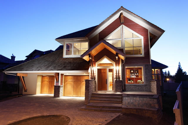 Wolf West Coast Contemporary Exterior Edmonton By