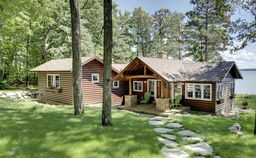 log cabin exterior paint coating