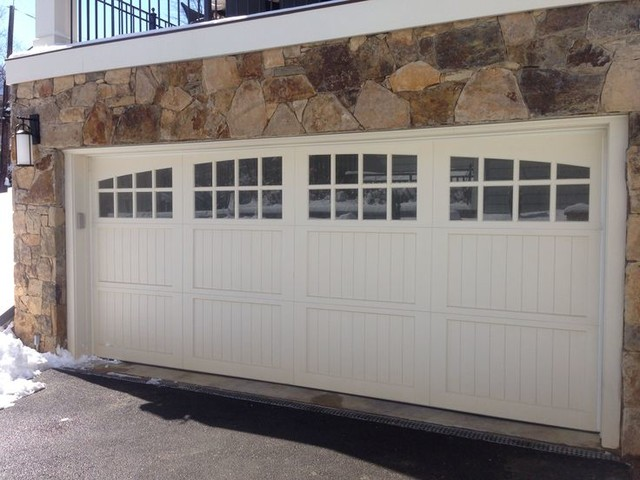 Wood and Composite Carriage Garage Doors - Traditional - Exterior - DC Metro - by Crisway Garage ...