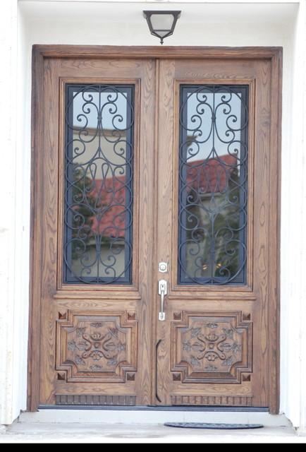 Wood Doors - Mediterranean - Windows And Doors - other metro - by Forja Designs