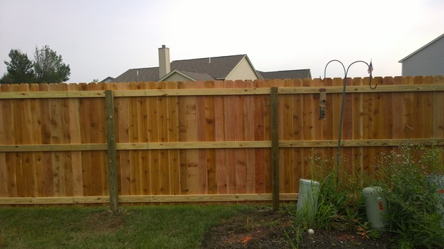 WOOD FENCE Exterior Columbus By Buckeye Fence Builders