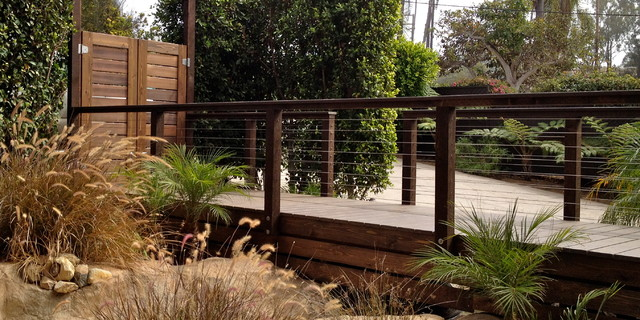 Wood Framed Cable Railing Systems Contemporary