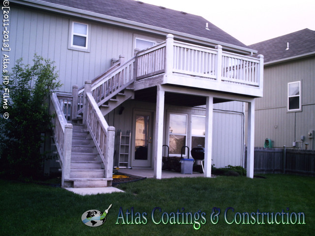 Wood Rot Repair and Exterior Painting in Olathe, KS - Traditional - Exterior - kansas city - by ...