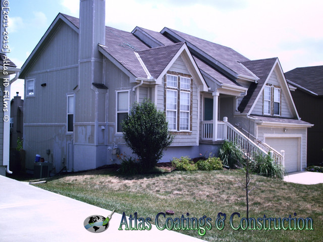 Wood Rot Repair And Exterior Painting In Olathe Ks Traditional Exterior Kansas City By