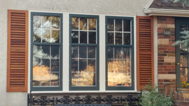 Wood Surround Combination Storm Windows Traditional