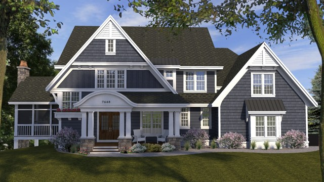 Woodbury Hampton S Style Traditional Exterior