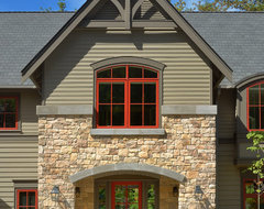Wooded Highlands by Design Guild Homes transitional-exterior