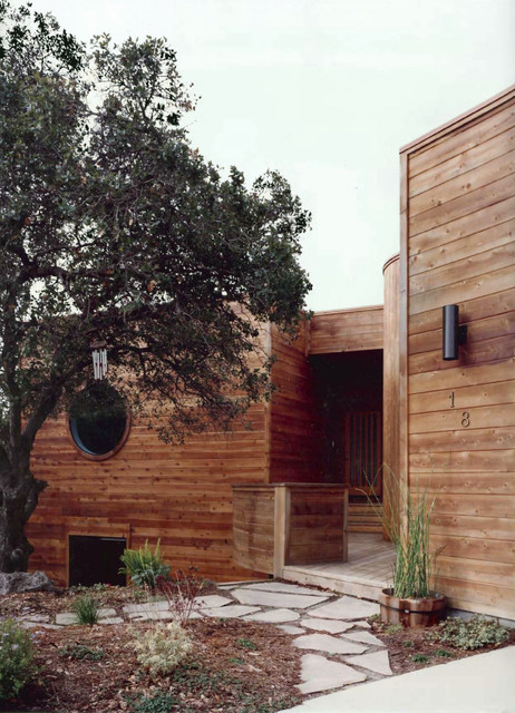 wooden house modern exterior san francisco by