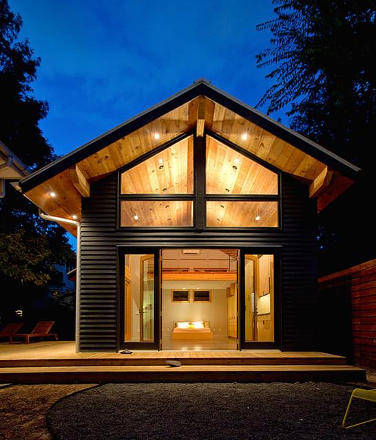 Woodland Heights Studio Craftsman Exterior Houston