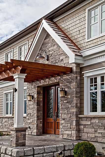 Woodland traditional-exterior