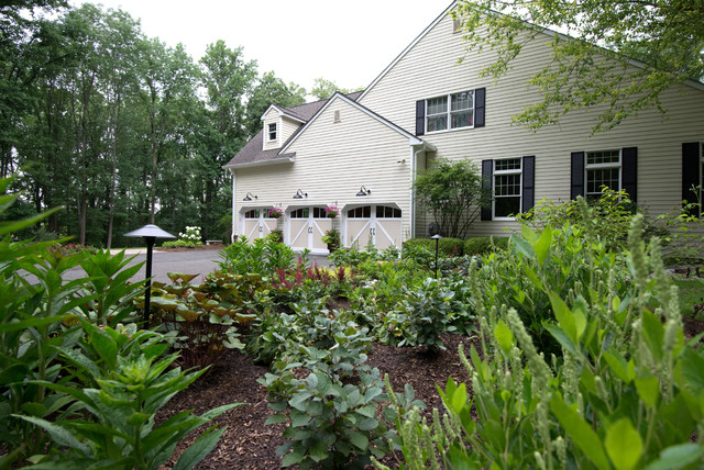 Woodland Oasis - Traditional - Exterior - New York - By Britney Ou0026#39;Donnell Garden Design