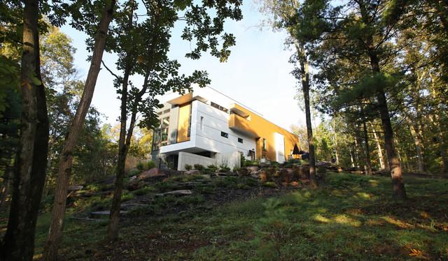 woodland perch contemporary-exterior