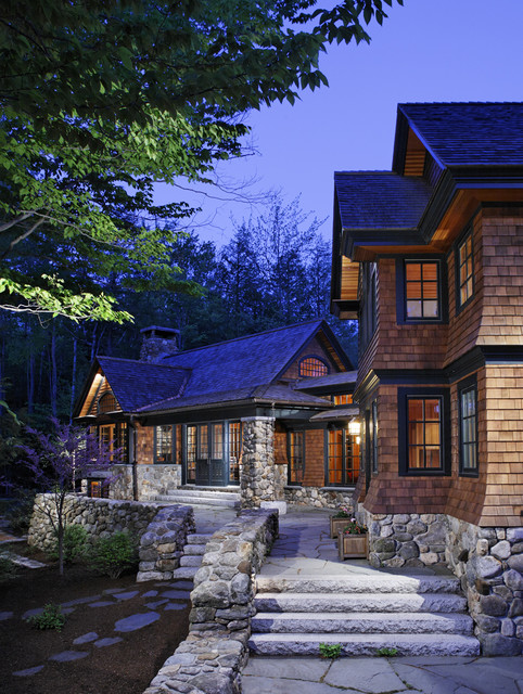 Woodland Point Carriage House traditional exterior
