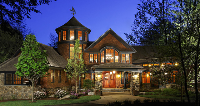 Woodland Point Main House traditional exterior