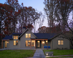 Woodland Residence transitional-exterior
