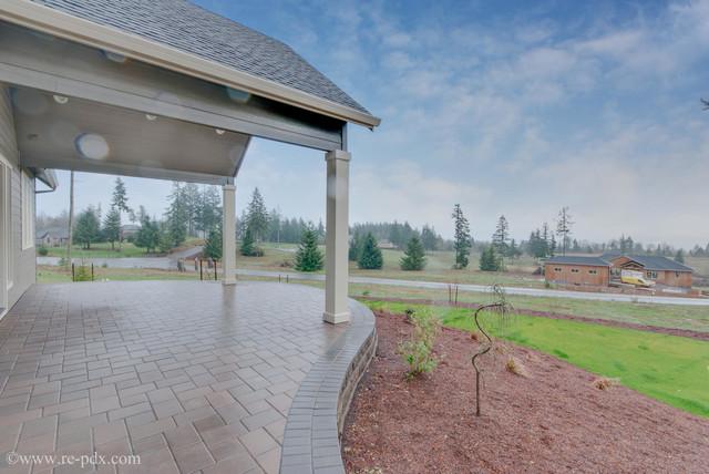 Landscaping Woodland Wa : Woodland washington custom home by quail homes exterior