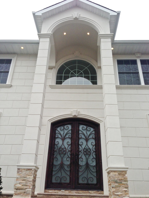Woodmere New Construction Home traditional-exterior