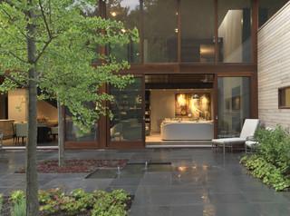 Woodvalley House contemporary exterior