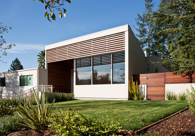 Woodview Terrace contemporary-exterior