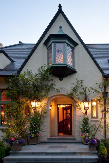 Woodway Manor traditional-exterior